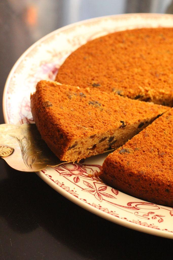 Gâteau facile à la mincemeat aux coings