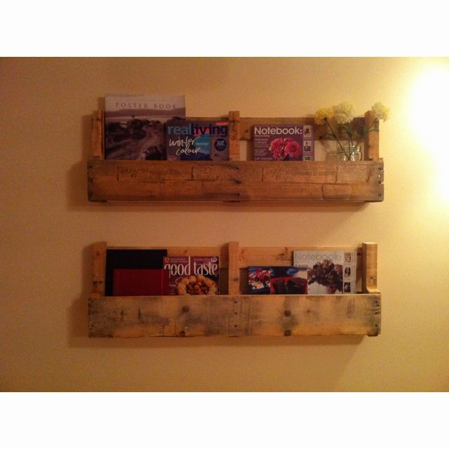 Our Weekend Project!! Book Shelves Made From Old Timber