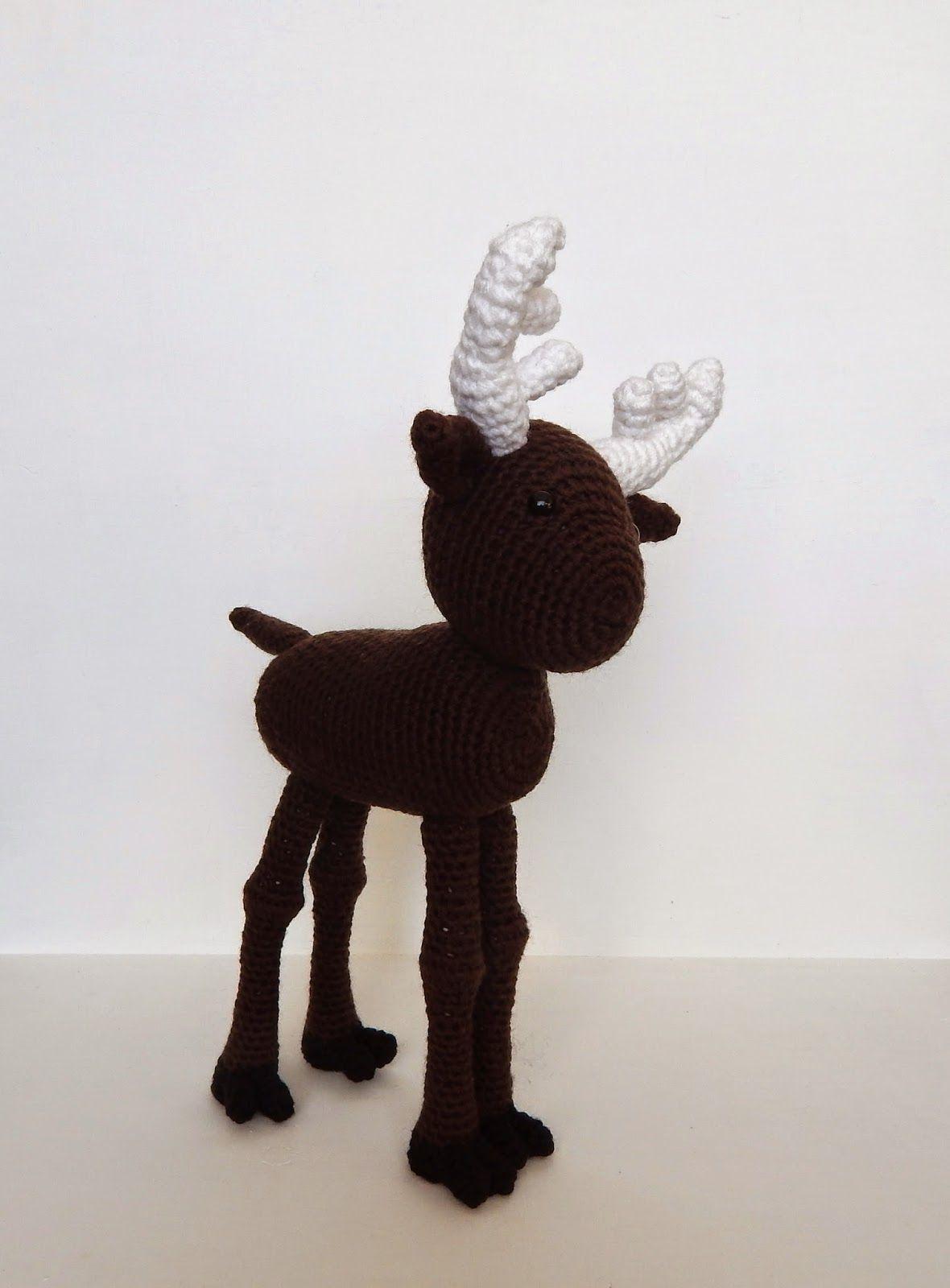 A[mi]dorable Crochet: Moose Pattern   moose\'s   Pinterest
