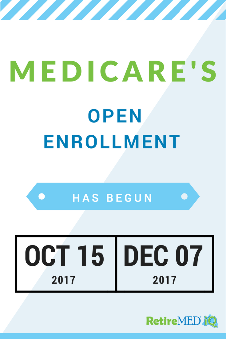 Medicare S Open Enrollment Is Here Retiremed Iq Is Here To Help