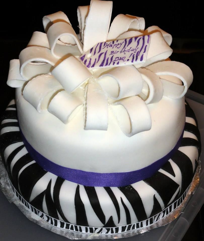 Zebra Birthday Cake Things I Love Pinterest Cake Birthday And