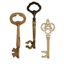 Details About Awesome Large Wooden Skeleton Key Wall Decor 3 Styles You Choose Key Wall Decor Wall Sculptures Wood Home Decor