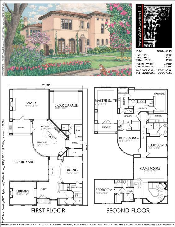 Urban Home Plan Ad5014 Sims House Plans Two Story House Design House Blueprints