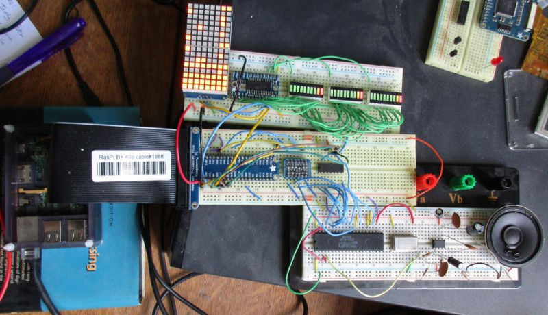 Raspberry Pi Chiptune Player Rocks A Sound Chip From The 80's | DIY