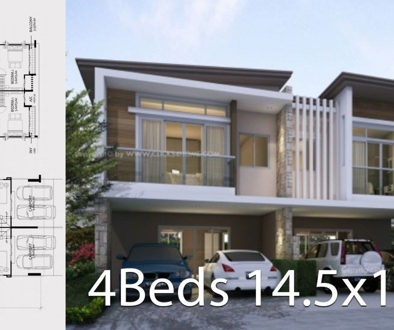 Twin House Design Philippines