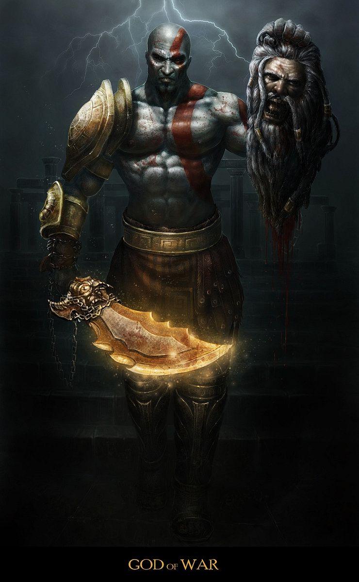 An Epic Gallery Of God Of War Fan Art Kratos God Of War God Of War God Of War Series