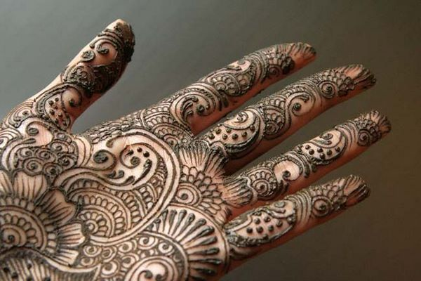 Mehndi Symbols Patterns And Meanings : Paisley mehendi on hand traditional symbols and meaning tattoos