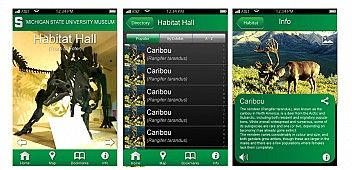 iPhone app for MSU Museum