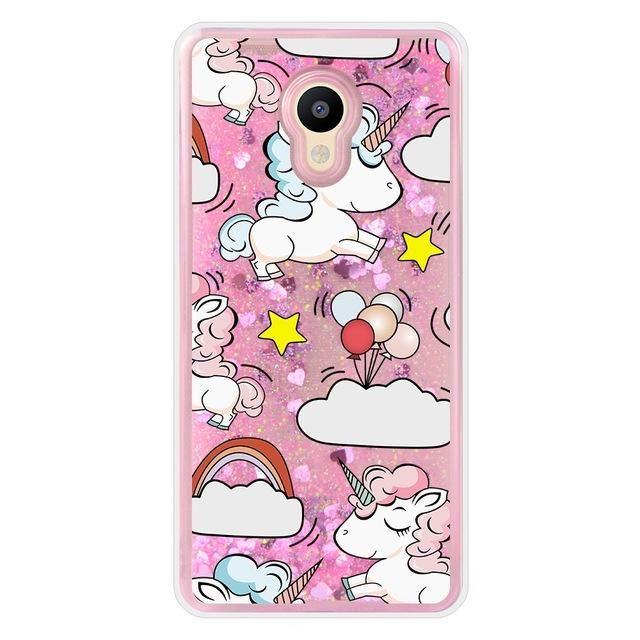 Liquid Unicorn Case For Meizu M5s