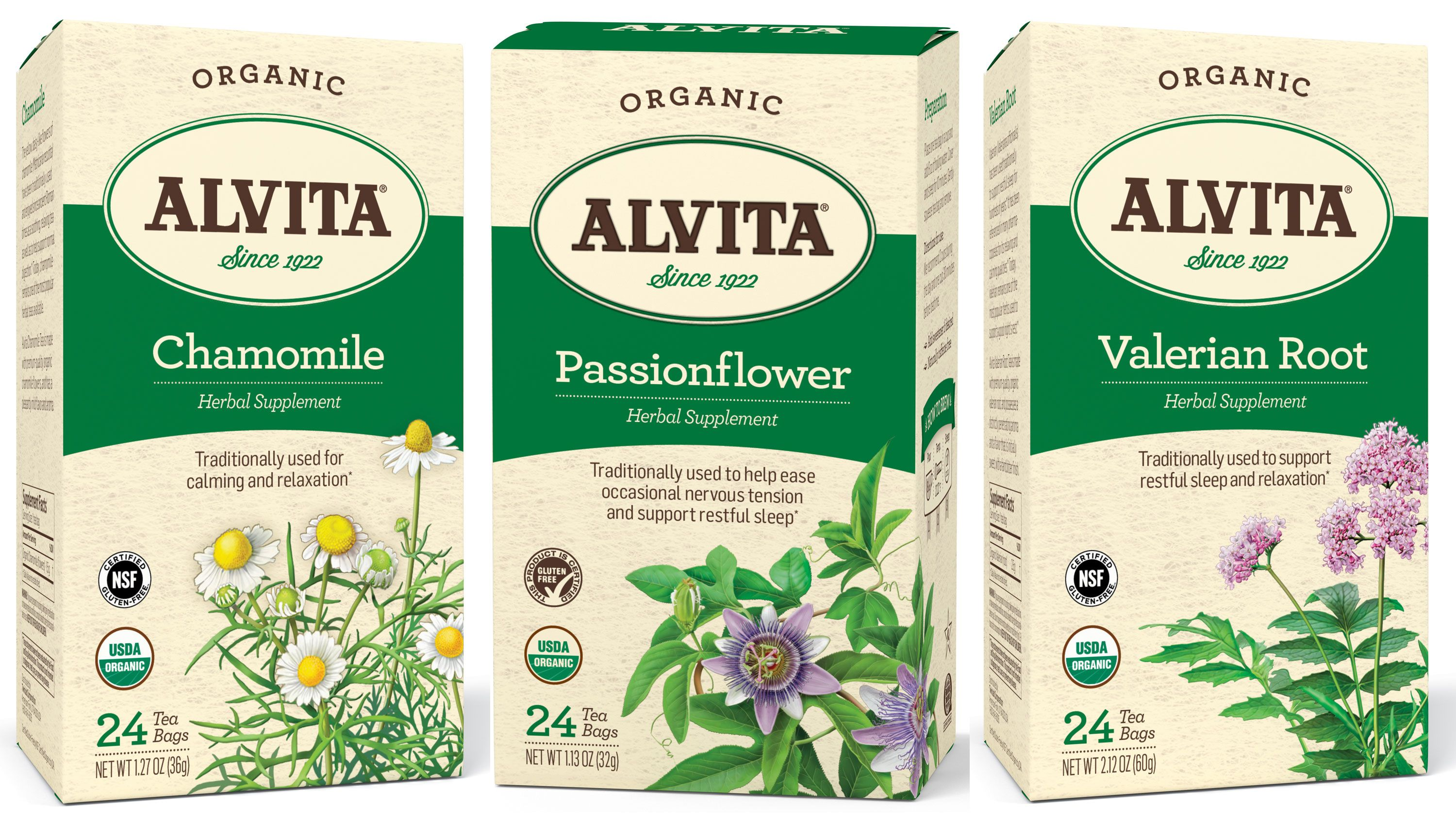 From Calming Chamomile To Tension Relieving Passionflower And Sleep Promoting Valerian Root Each Of These Teas Can Calm You Down Stat Health Wellbeing Dandelion Root Tea Health Wellness
