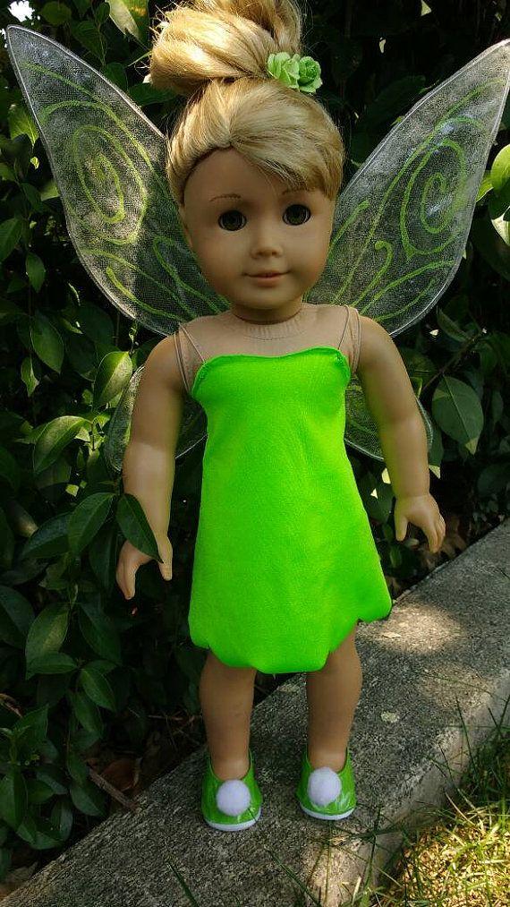 Disney Tinkerbell Kostüm für American Girl von JessiesGirlClothing ...