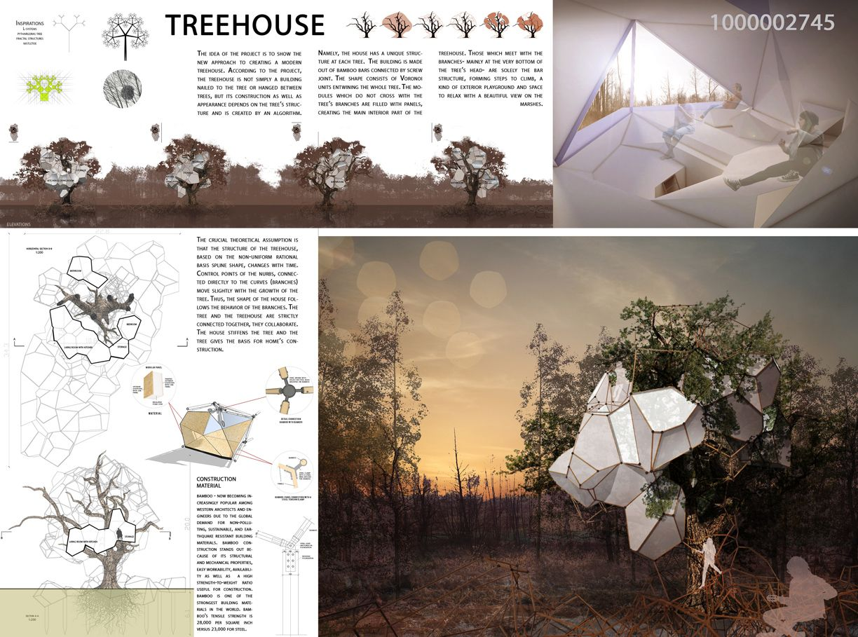 Architecture House Competition archtriumph: tree house competition | presentation arch