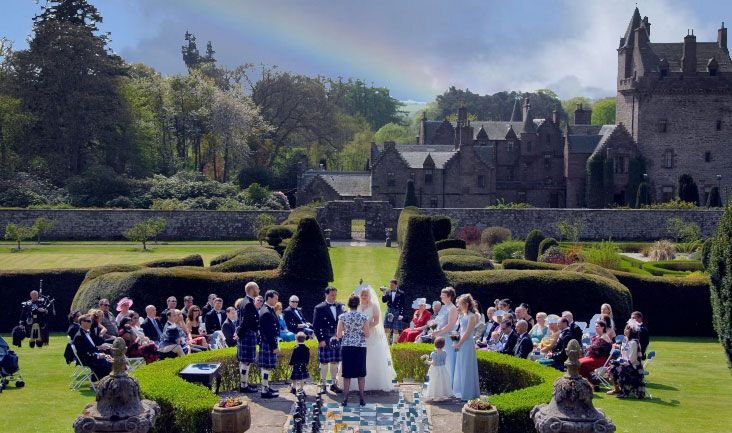 Guthrie Castle Is The Most Ideal Venue For Weddings And Corporate Events Scottish Located In Forfar Scotland Near Angus Dundee