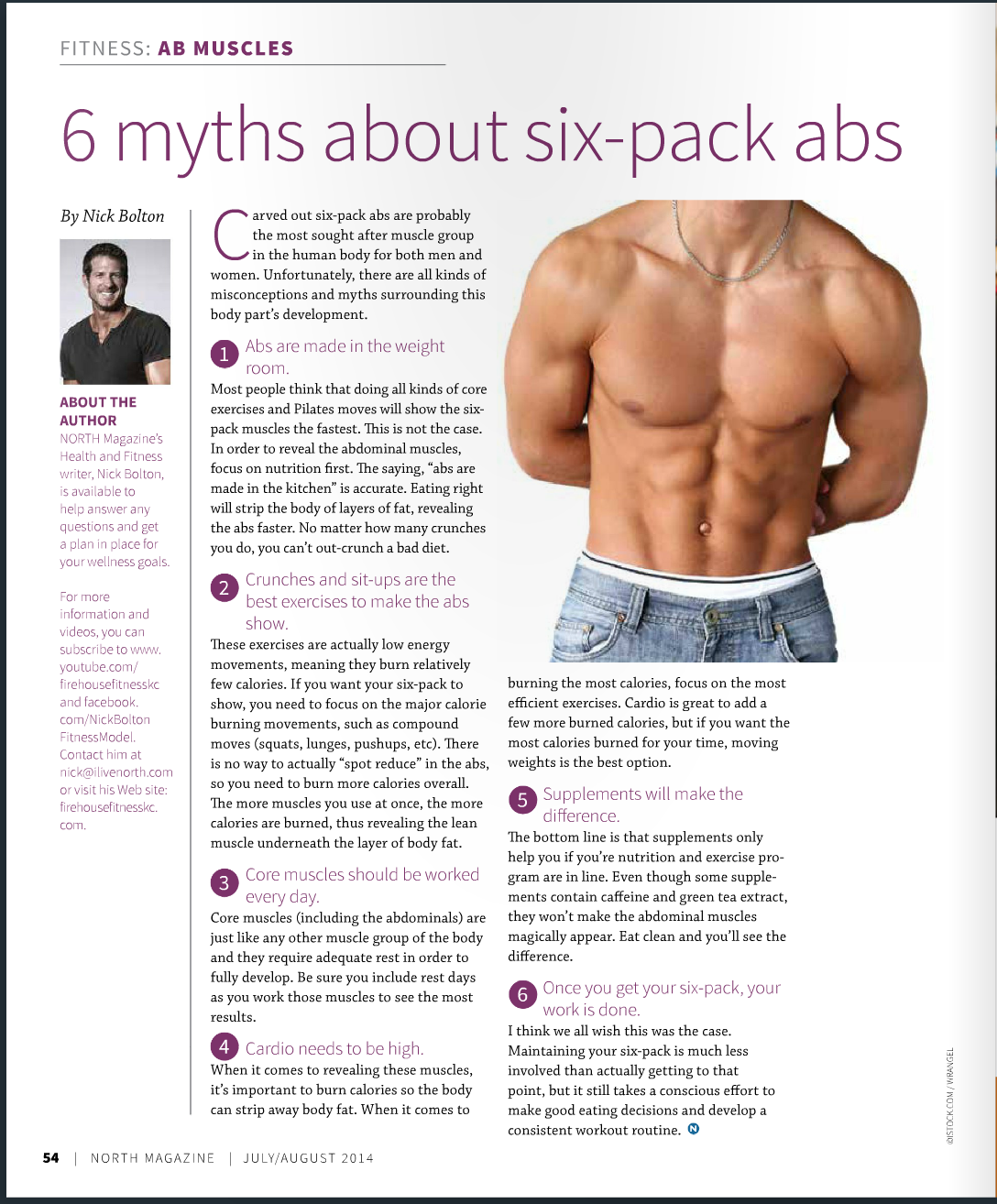 How To Get Six Pack Abs - YouTube
