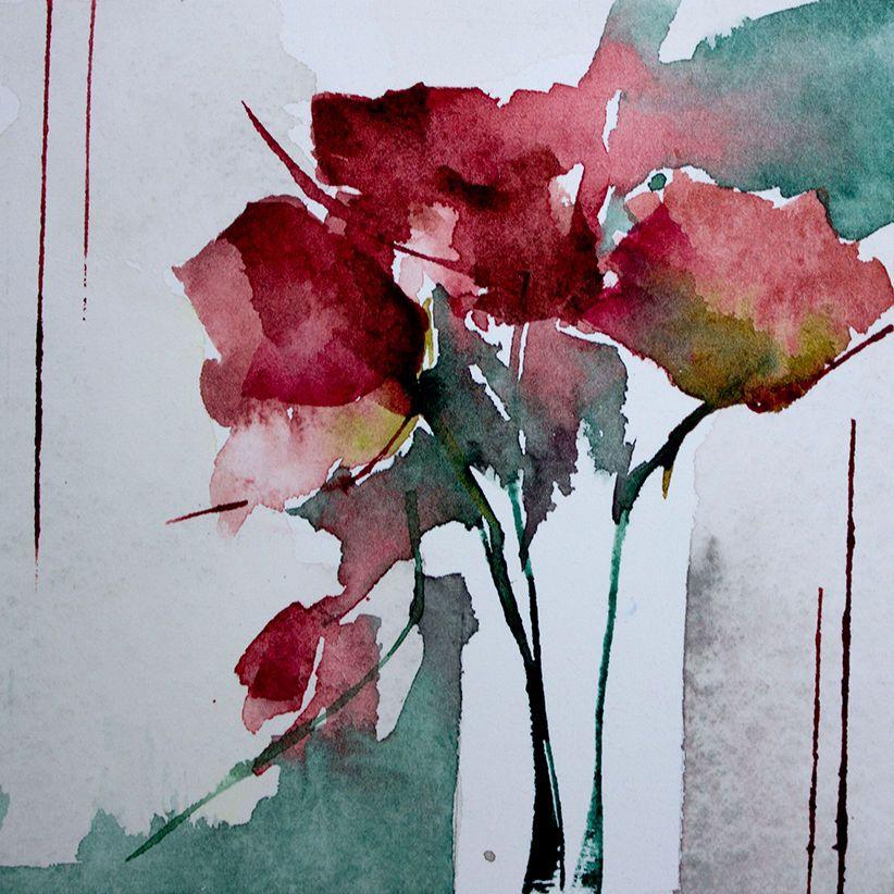 Petit Instant N 285 Peinture 10x10 Cm Par Veronique Piaser
