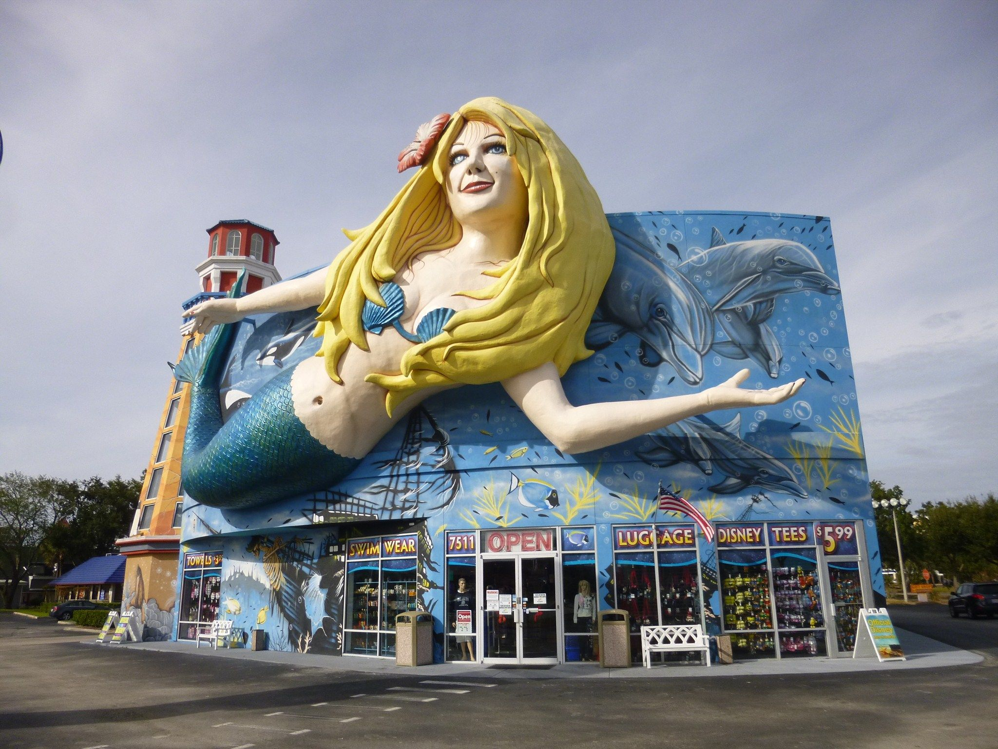 Mermaid 3d Art Gift Shop Us 192 Kissimmee Florida Mermaid Gifts Roadside Attractions Mermaid