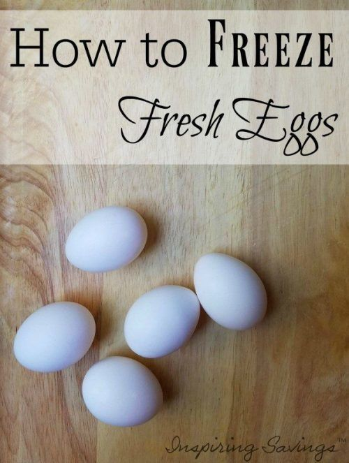 How to Freeze Eggs for Later Use in Cooking images