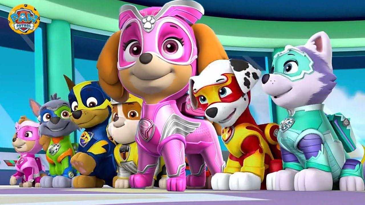 Patrulha Canina Em Portugues Poderosos Filhotes Salvam A Baia Da Aventura Paw Patrol Games 1 Paw Patrol Mario Characters Character