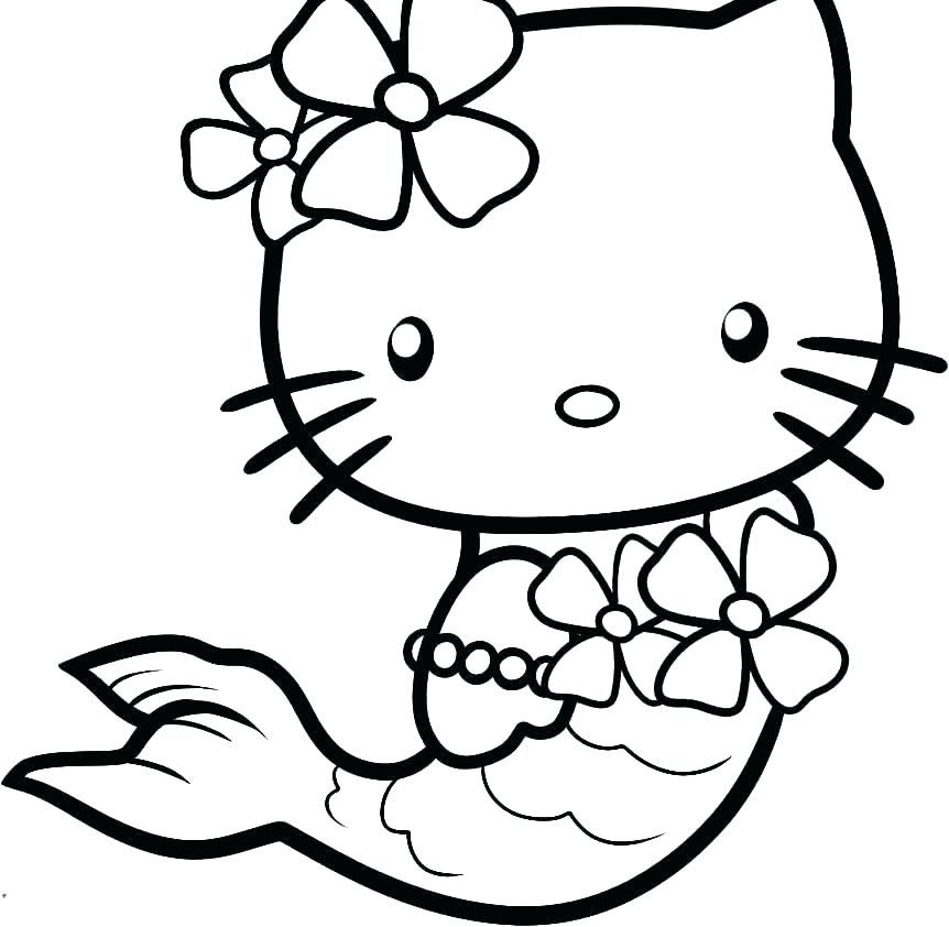 Hellow Kitty Coloring Pages Coloring Pages Hello Kitty Hello Kitty Hello Kitty Coloring Kitty Coloring Mermaid Coloring Pages