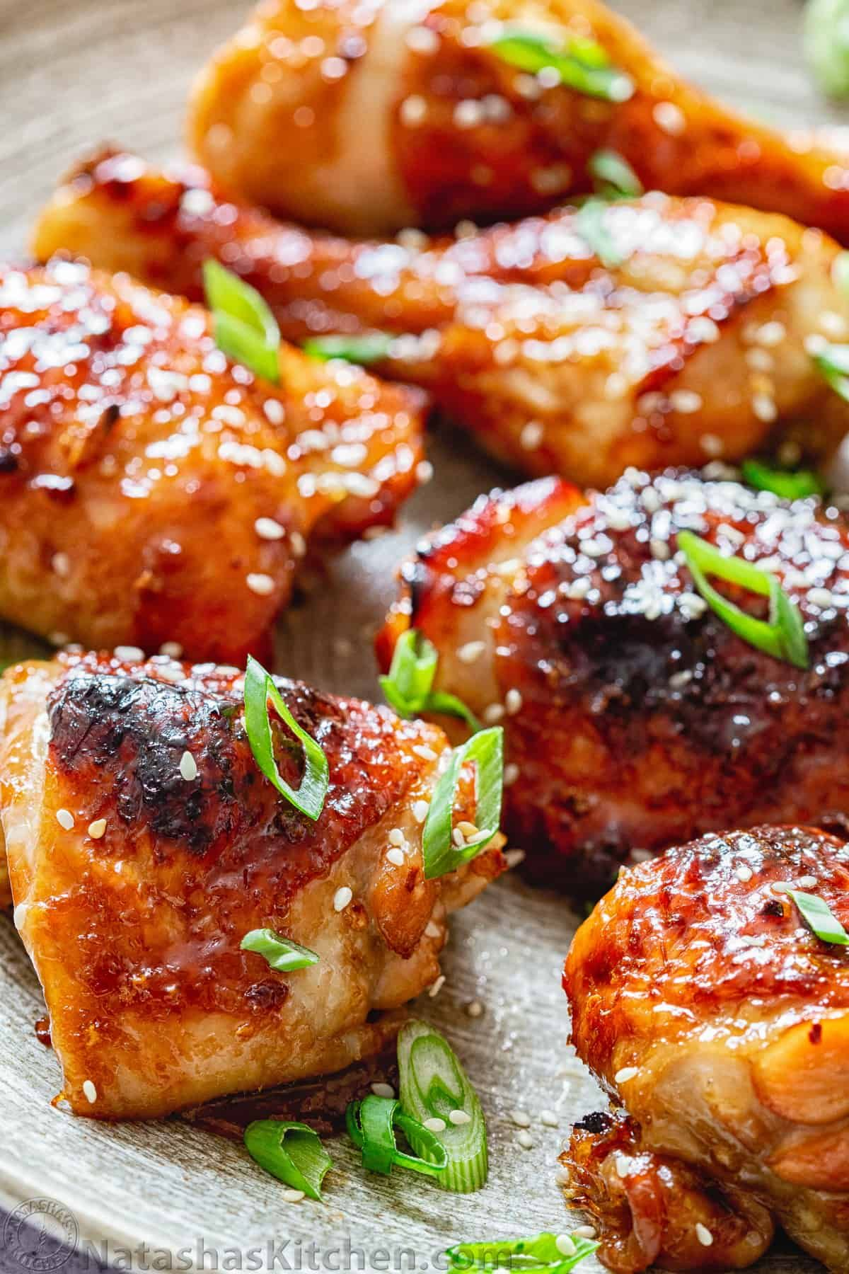A Quick And Easy Recipe For Korean Chicken Using Simple And Easy