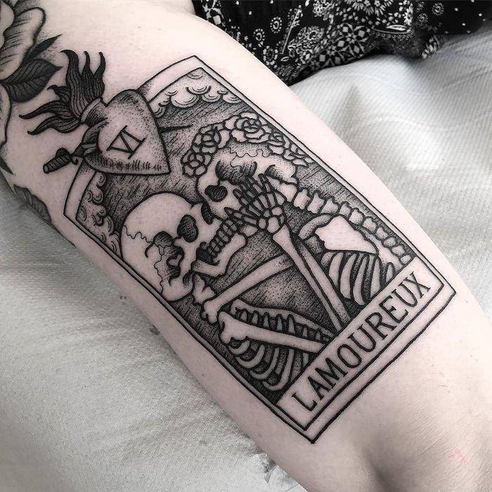 Carte de grue de phrase de mort tatouage swag, tatouage original, dessin thème …   – Tattoo