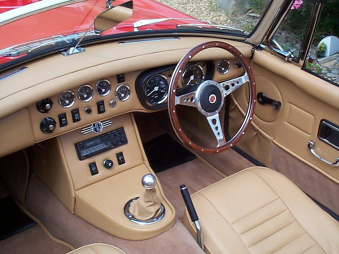 leather wrapped 1974 mgb design ideas pinterest cars british car and sports cars. Black Bedroom Furniture Sets. Home Design Ideas