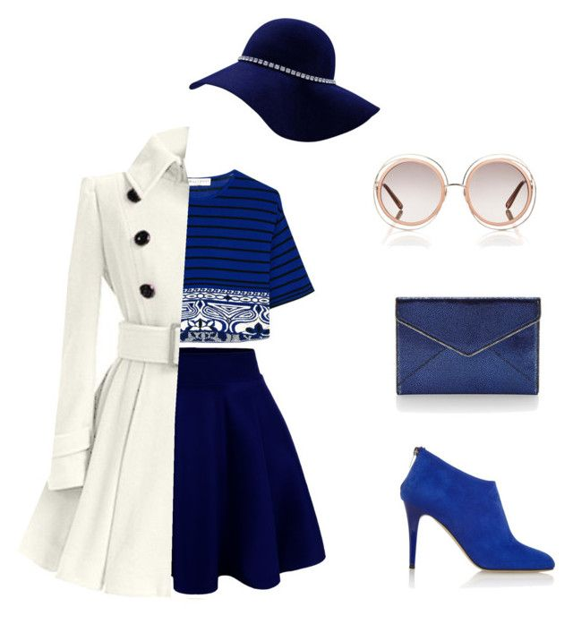"""""""Blue elegant"""" by deira-zhang on Polyvore featuring Emilio Pucci, Jimmy Choo, Rebecca Minkoff and Chloé"""