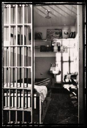 Standard Alcatraz 5x9 Foot Cell Prisoners Had No Privacy In Going