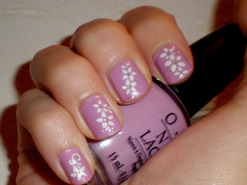 Lila blumen designs nagel design pinterest easy toenail designs do it yourself nails which are well taken care of make a positive perception on your individuality solutioingenieria Images