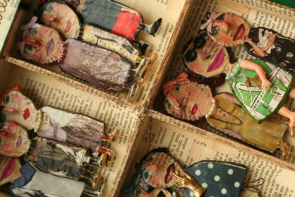 Chocolate Creative: Julie Arkell creatures