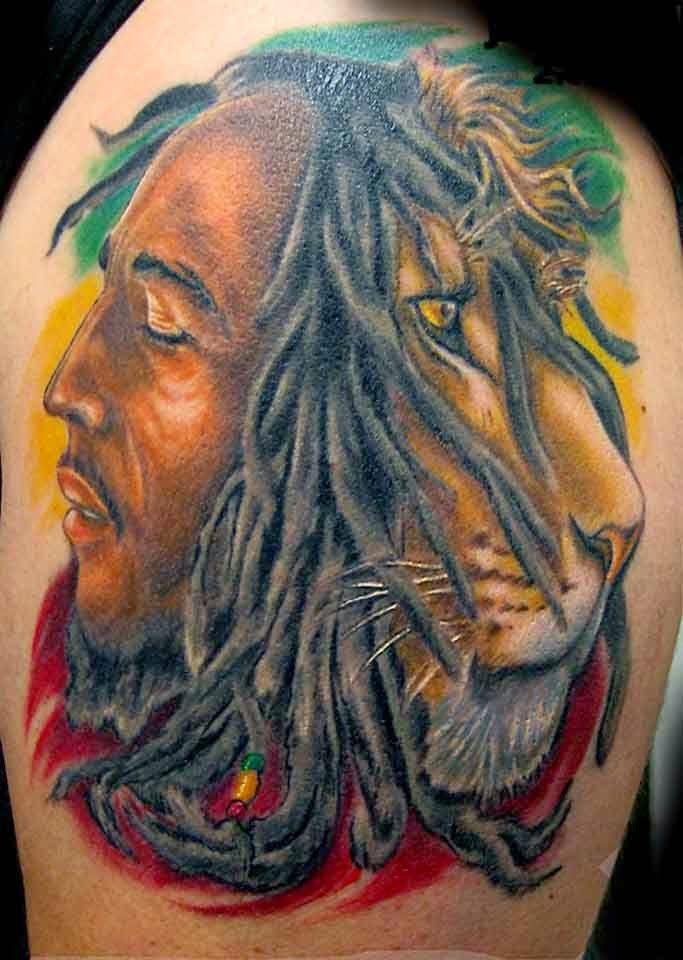 rastafari lion tattoo for man best tattoo design ideas tattoo ideas pinterest tattoo. Black Bedroom Furniture Sets. Home Design Ideas