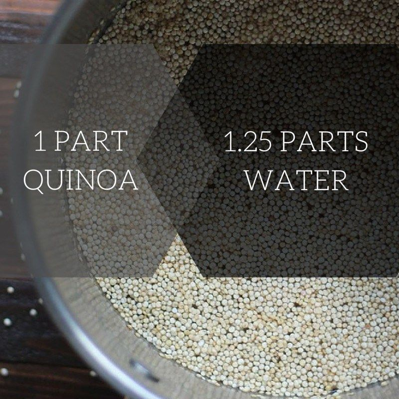 how to cook perfect quinoa  pass the plants  perfect