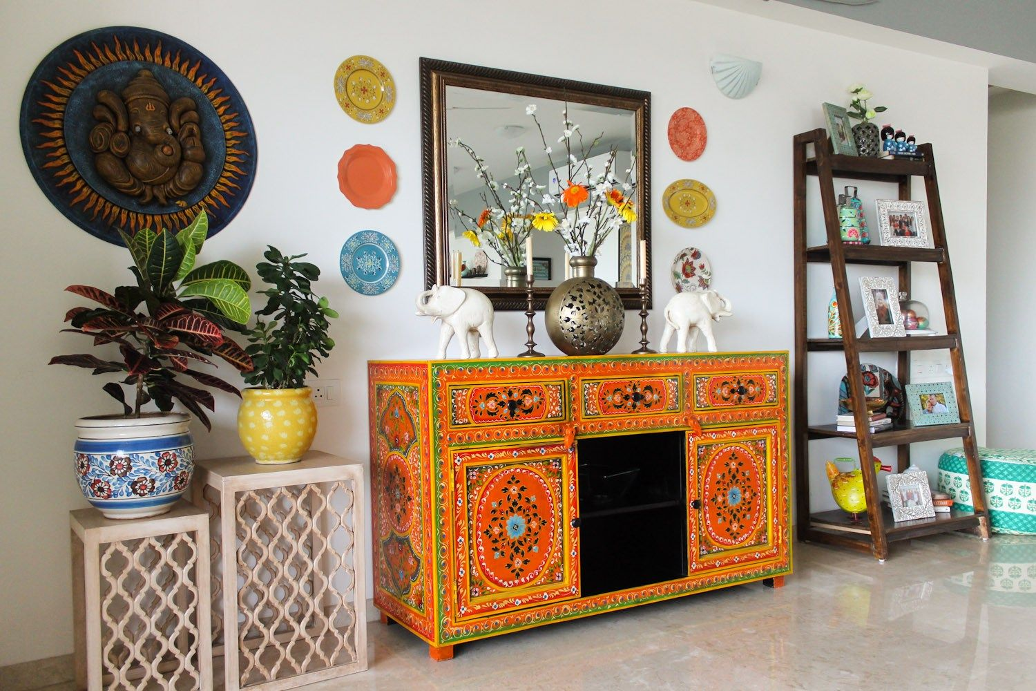 modern-rustic-indian-design-home-21 | Indian home interior ...