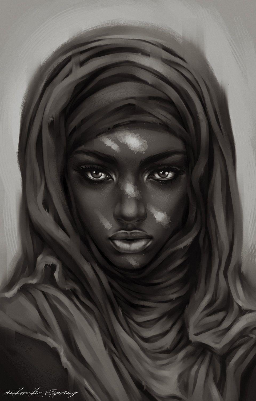 Pin Andr Joseph Martin' Art Black Women