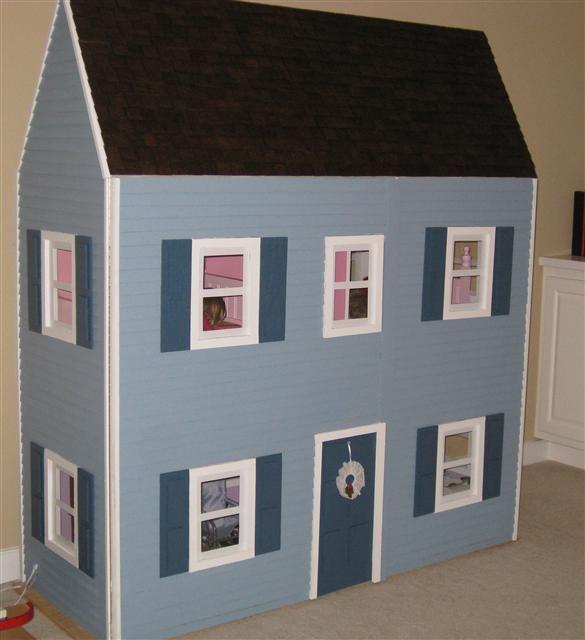 american girl dollhouse plans & template kit | american girl