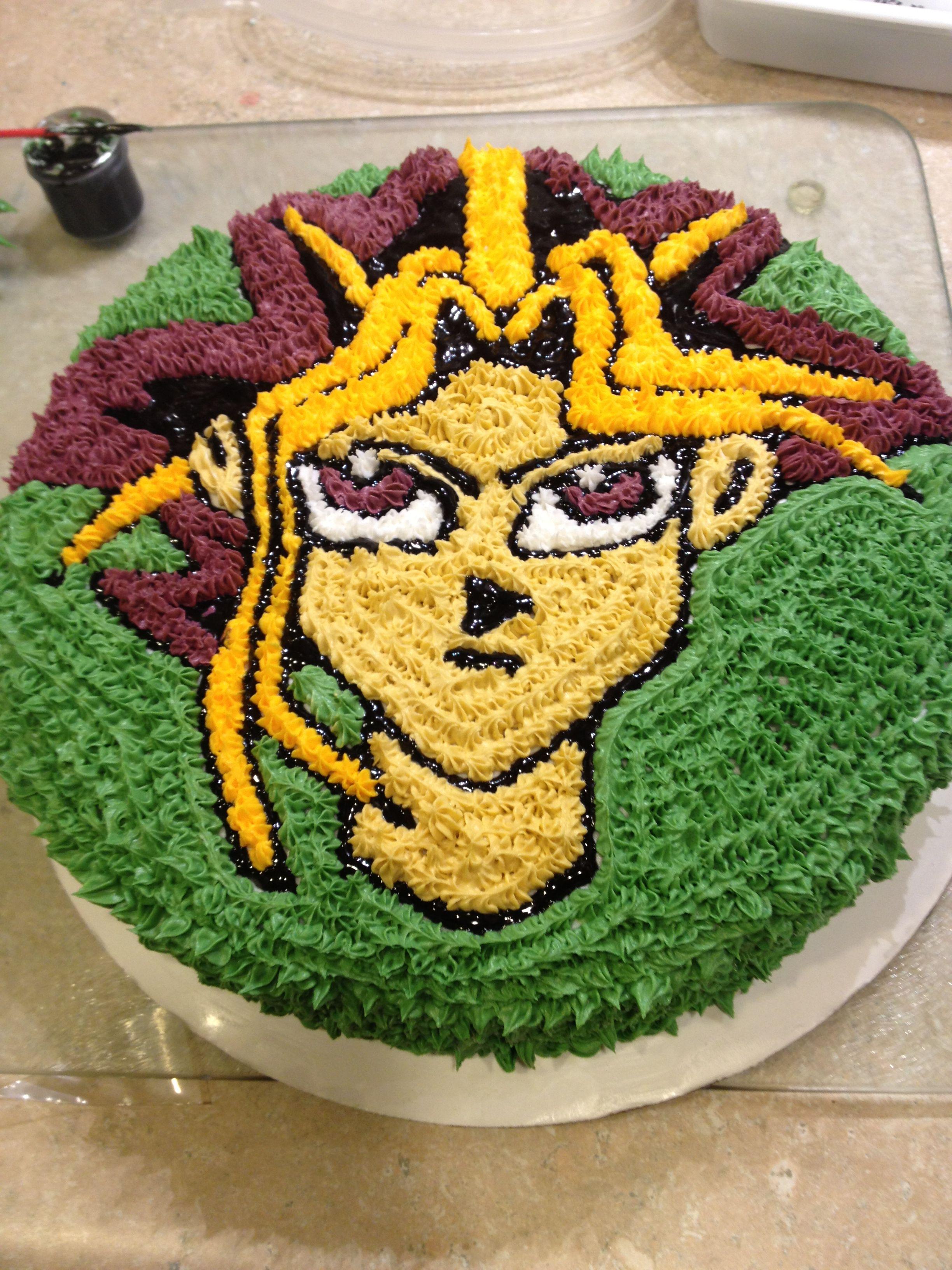 Yu Gi Cake Cakes Pastel Decorado De Betun
