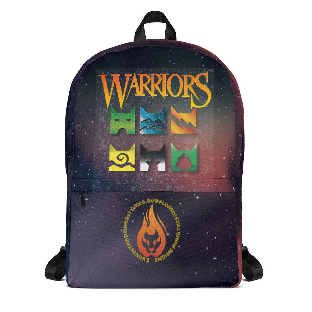 Warrior Cat Icons Backpack for back to school (With images