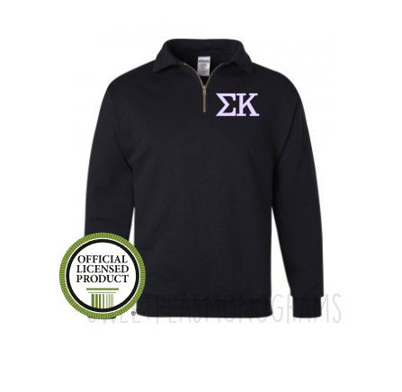 monogram sweatshirt, monogram fleece, Sorority sweatshirt, Quarter Zip, Sorority Big Little shirt, monogram half zip fleece,