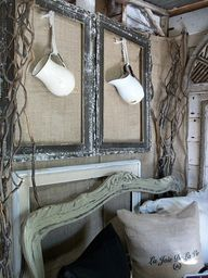 Put your old wooden frames to use, so stunning and simple