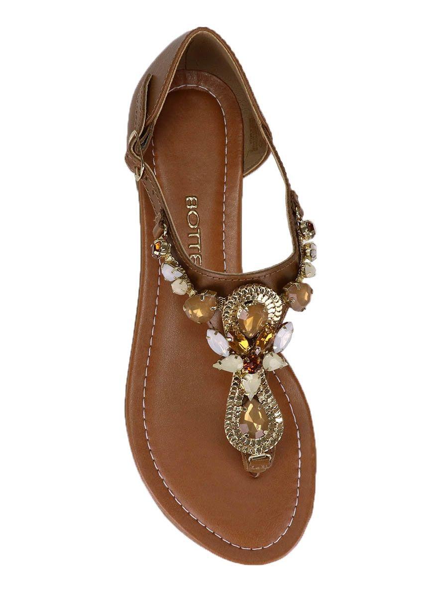 18da940e3 Sandália Rasteira Bottero em 2019 | SAPATOS | Sandals e Shoes