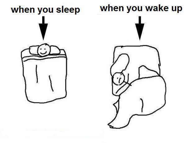 that was me this morning..