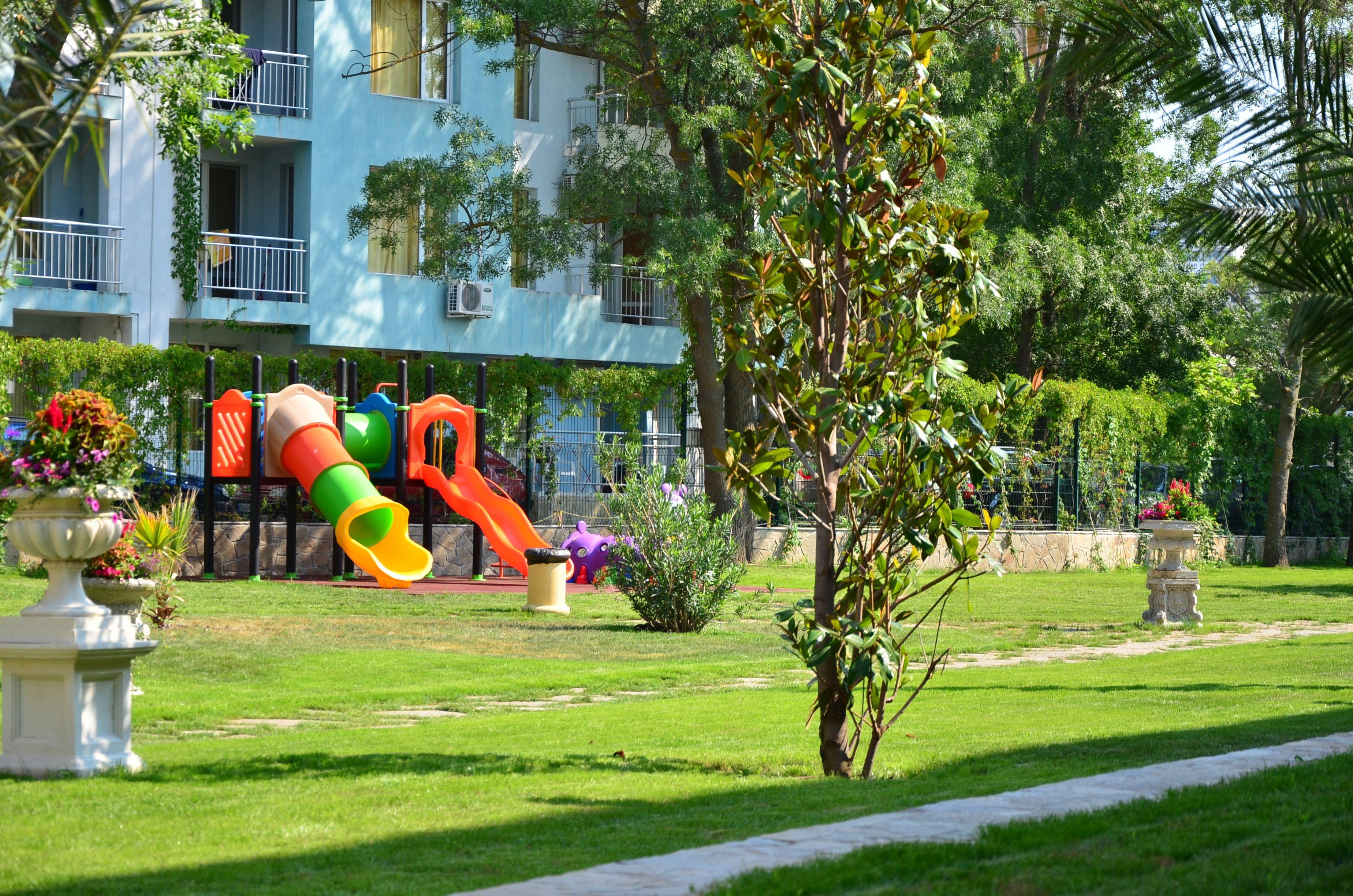 Children\'s Playground in Hotel Riva 3*, Sunny Beach Resort, Bulgaria ...