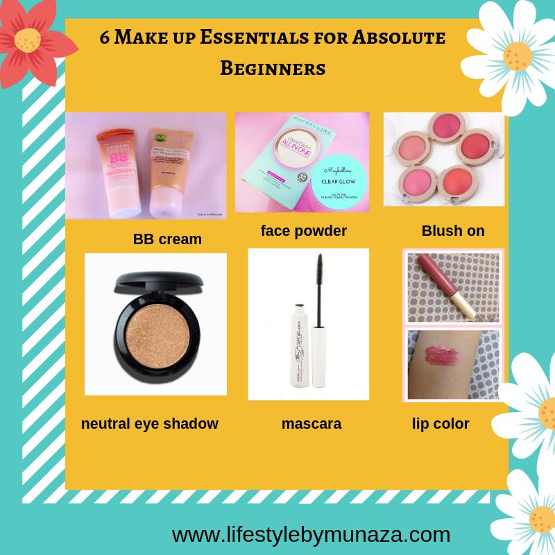 make up essentials, make up for beginners, make up