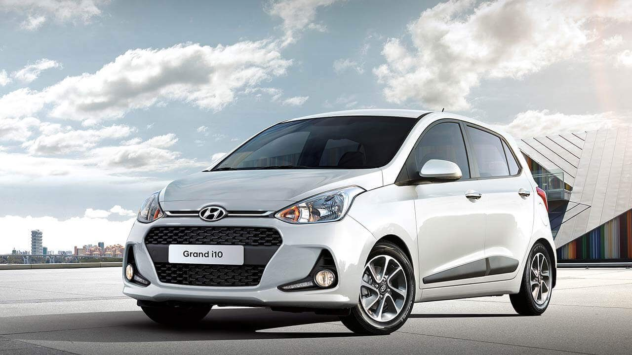 Hyundai I10 Available For Rent With Kion Rhodes Car Rentals In The