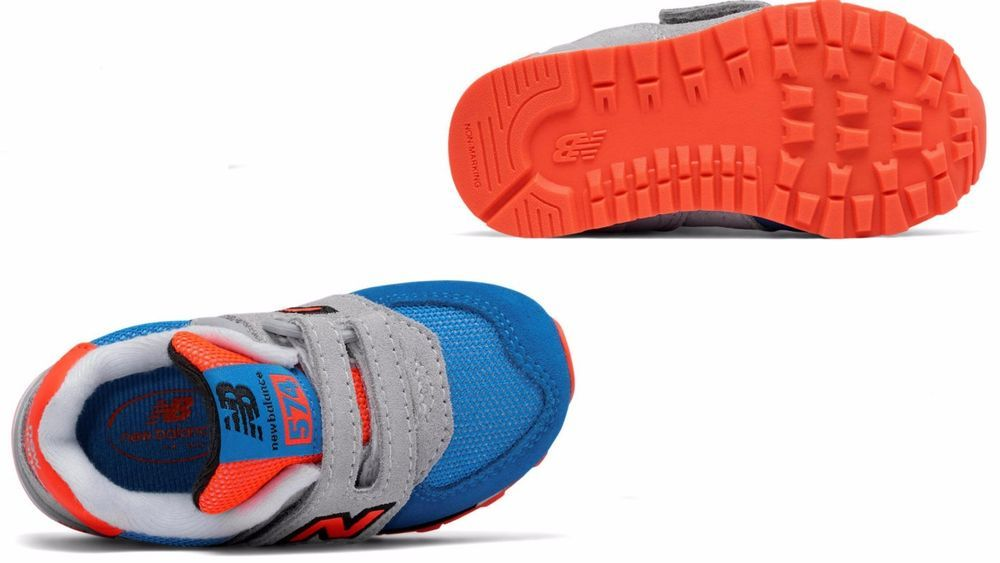 a752b5e1 Details about Infant toddlers (TD) NEW BALANCE 574 Hook and Loop ...