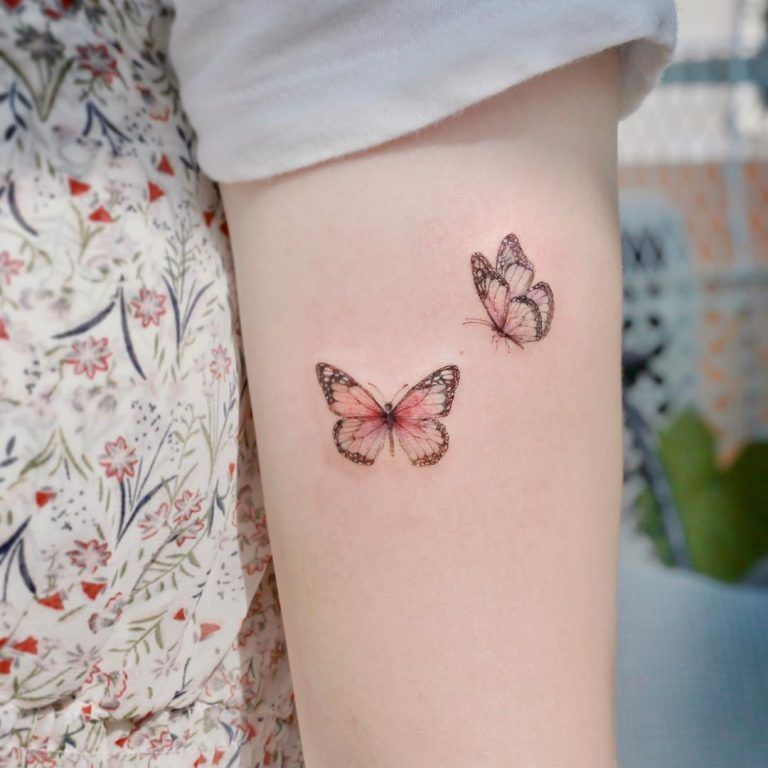 Photo of 112 Sexiest Butterfly Tattoo Designs in 2020 – Next Luxury