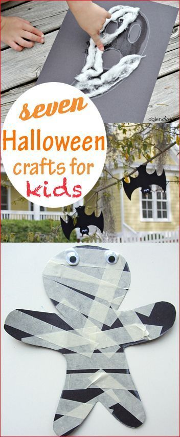 7 Halloween Crafts for Kids Fun Halloween activities for little - halloween party ideas for kids