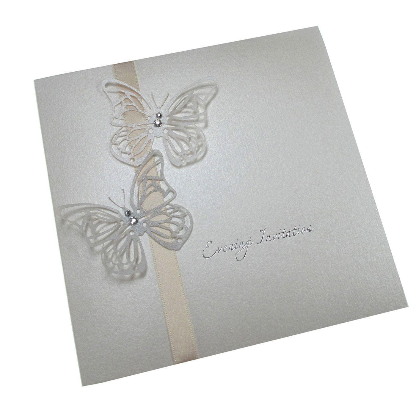 Fantastic Laser Cut Butterfly Wedding Invitations Gallery ...