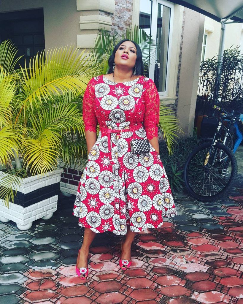 African print dresses for weddings  Checkout These Classy And UptoDate Ankara Styles You Would Be