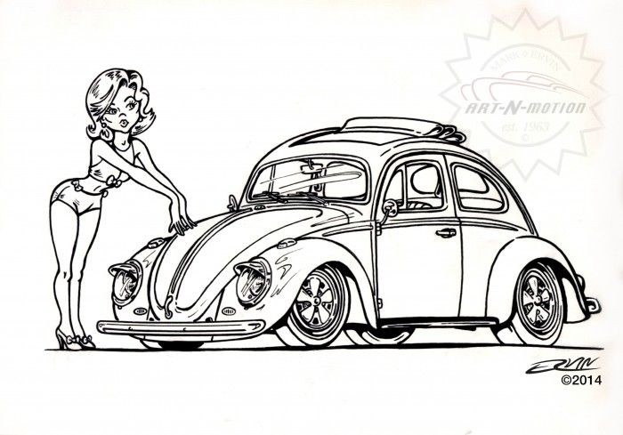 Toon Up The Automotive Art Of Mark Ervin